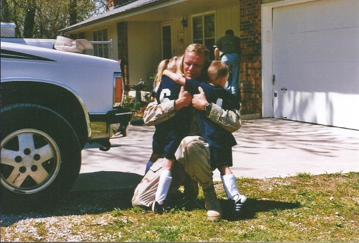 Day Home From Iraq 14April03-2