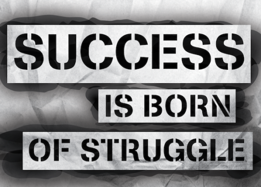 Success-Is-Born-Of-Struggle